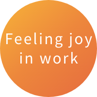 Feeling joy in work